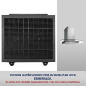 Filtro de Carvão ativado para Coifas Esmeralda