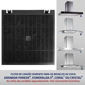 Filtro de Carvão Granada Parede, Esmeralda II, Coral e Cristal
