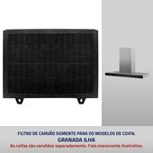 Filtro de carvão para Coifa Granada Ilha
